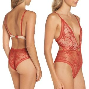 Free People Intimately FP No Trace Lace Bodysuit